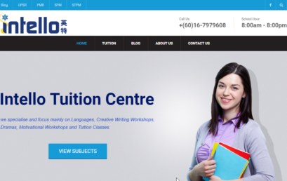 Our Tuition Center new web page is here!